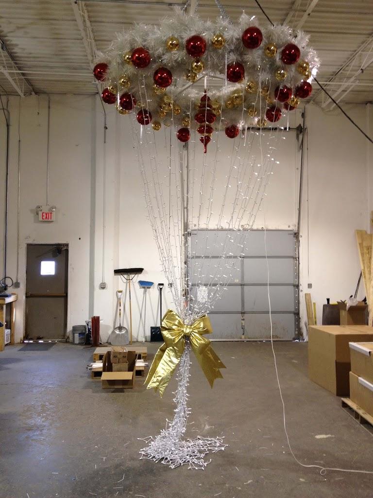 Light Pole Christmas Decorations