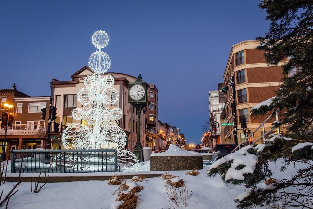 Dartmouth Nova Scotia Downtown Decorations