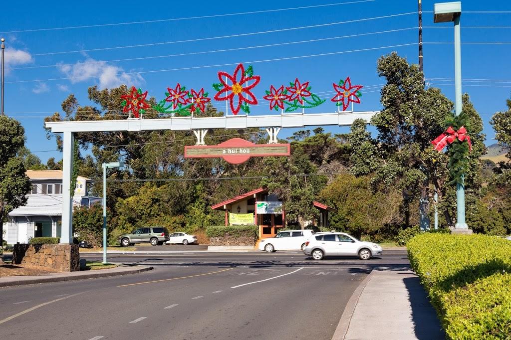 Waimea Hawaii Downtown Decorations