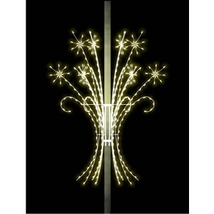 3-D Shooting Snoburst Spectacular - Silhouette Pole Mount Decoration