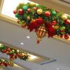 Custom Commercial Wreath Chandelier