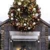 utdoor large Christmas wreath