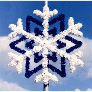 Light Pole Decorations - Pole Mounted Christmas Decorations