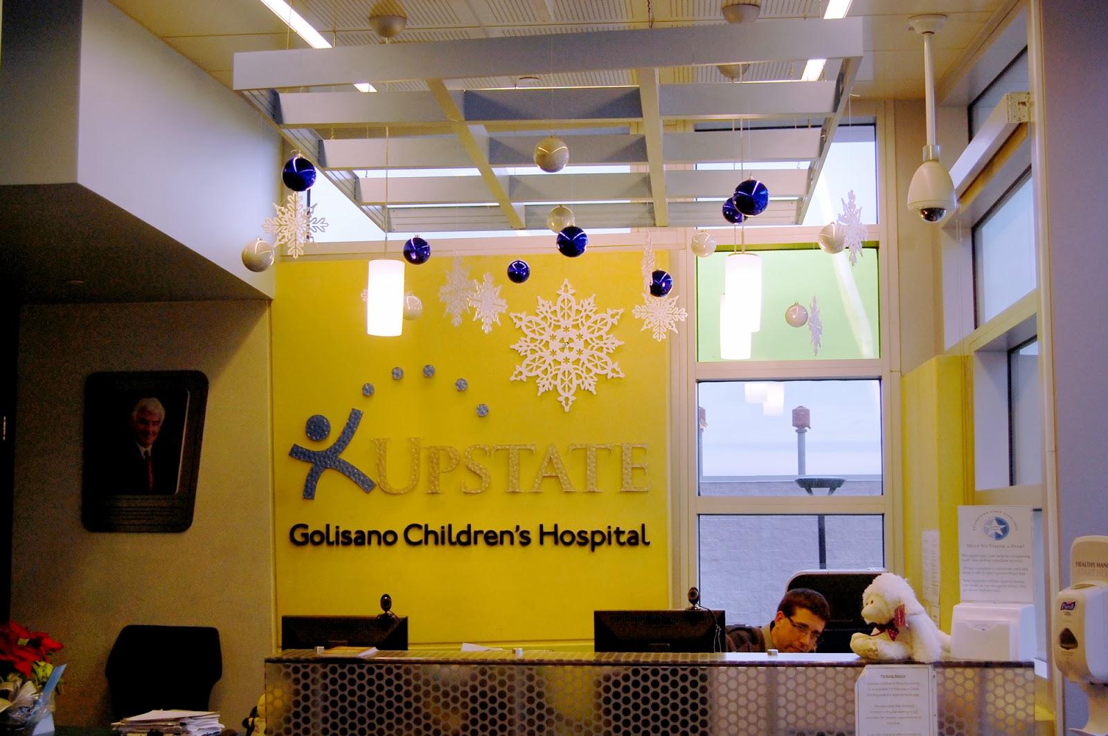 Upstate Golisano Children S Hospital Downtown Decorations