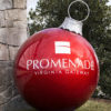 Giant Fiberglass Christmas Ornament