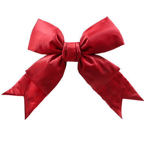 Large Red Christmas Bows